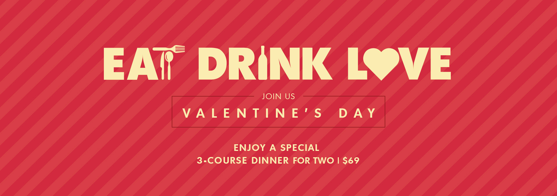 Eat Drink Love at Moxie's this Valentine's Day