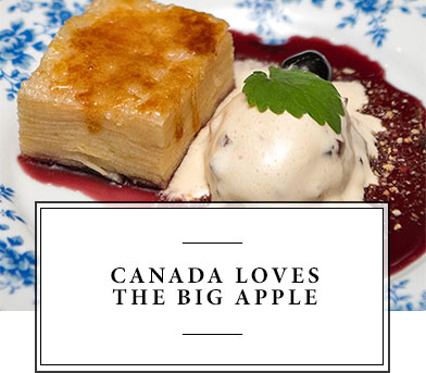Canada Loves the Big Apple