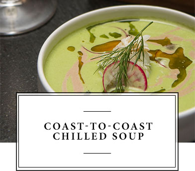 Coast To Coast Chilled Soup