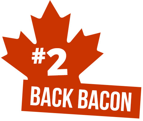 2 - back bacon